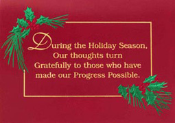the nonprofit organization supported by the card will be acknowledged on the inside of the card just like all good cause greetings charity select cards - Holiday Cards For Charity