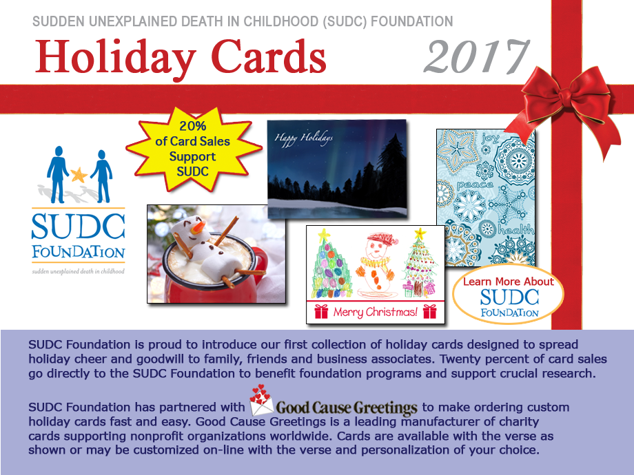 SUDC Foundation holiday card program