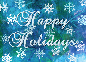 Happy holidays christmas card supporting the charity of your choice view full size image m4hsunfo