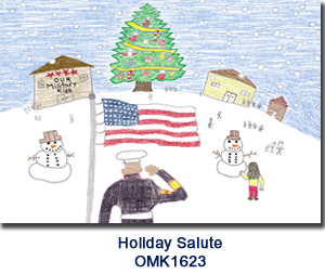 Our Military Kids holiday card program